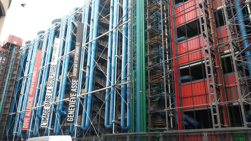 Parijs Centre Pompidou