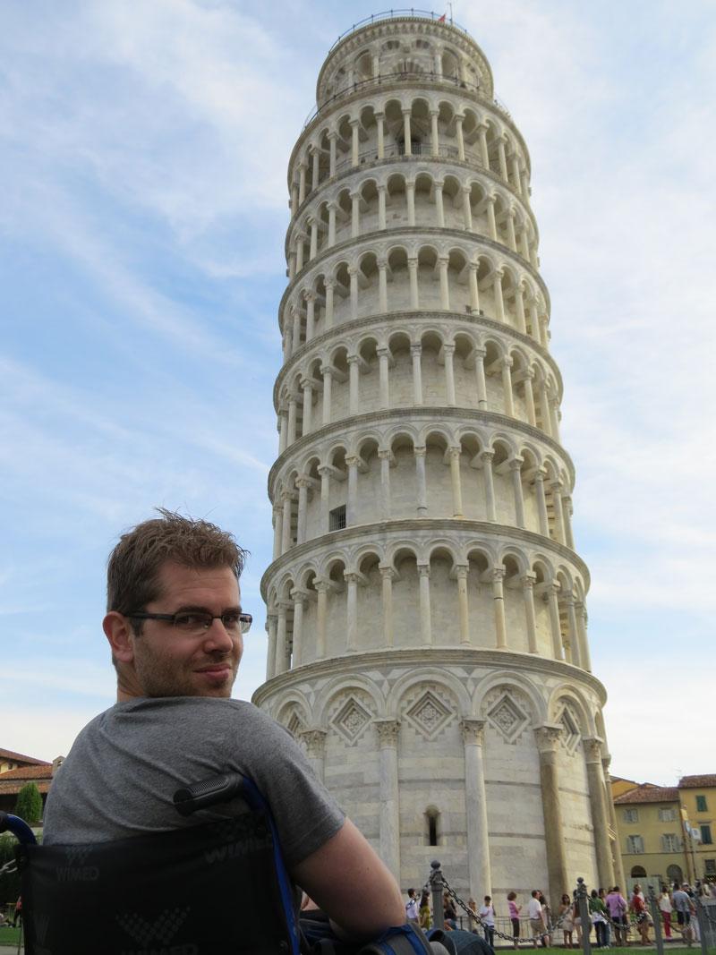 De Toren van Pisa Italië