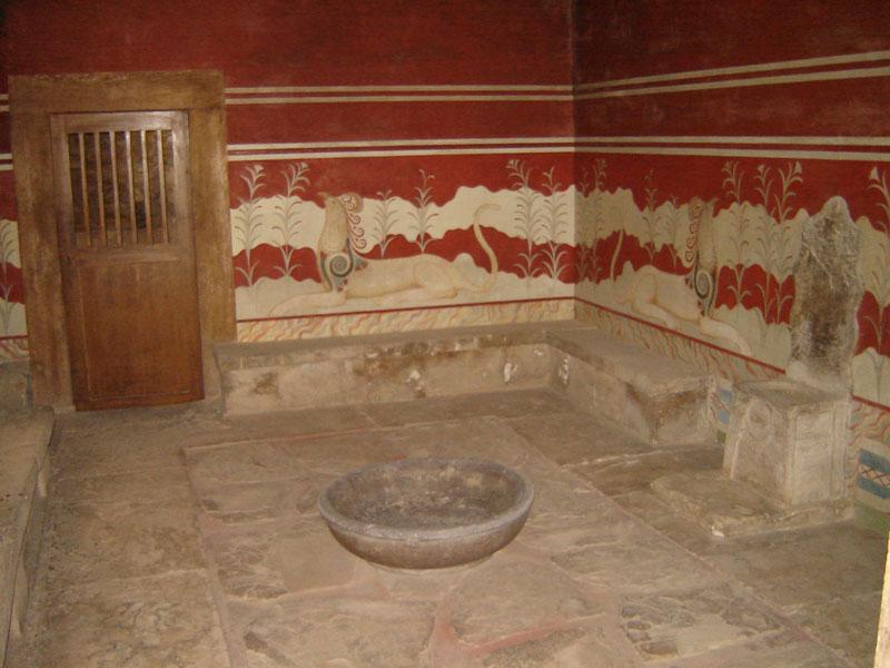 Knossos Kreta Heraklion