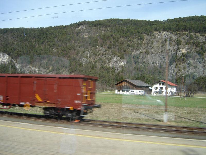 Inssbruck Oostenrijk trein