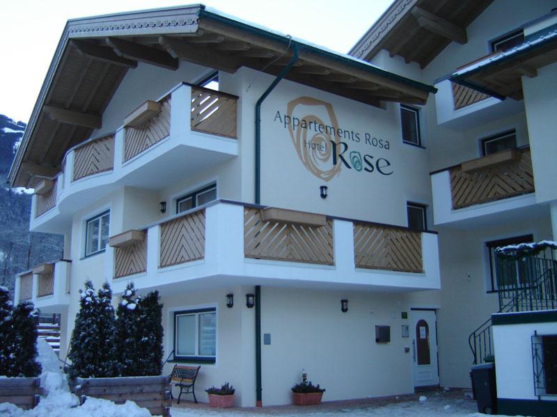 Mayrhofen Rosa appartementen