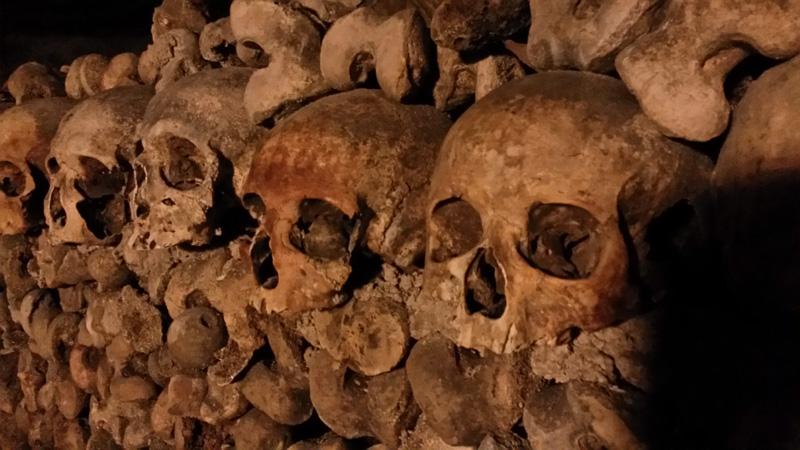 Parijs Catacomben