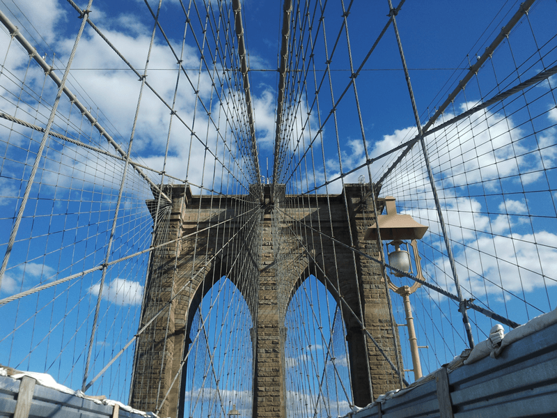 New York Brooklyn Bridge