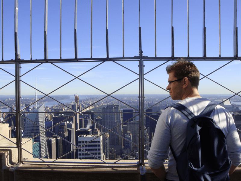 New York vanaf het Empire State Building