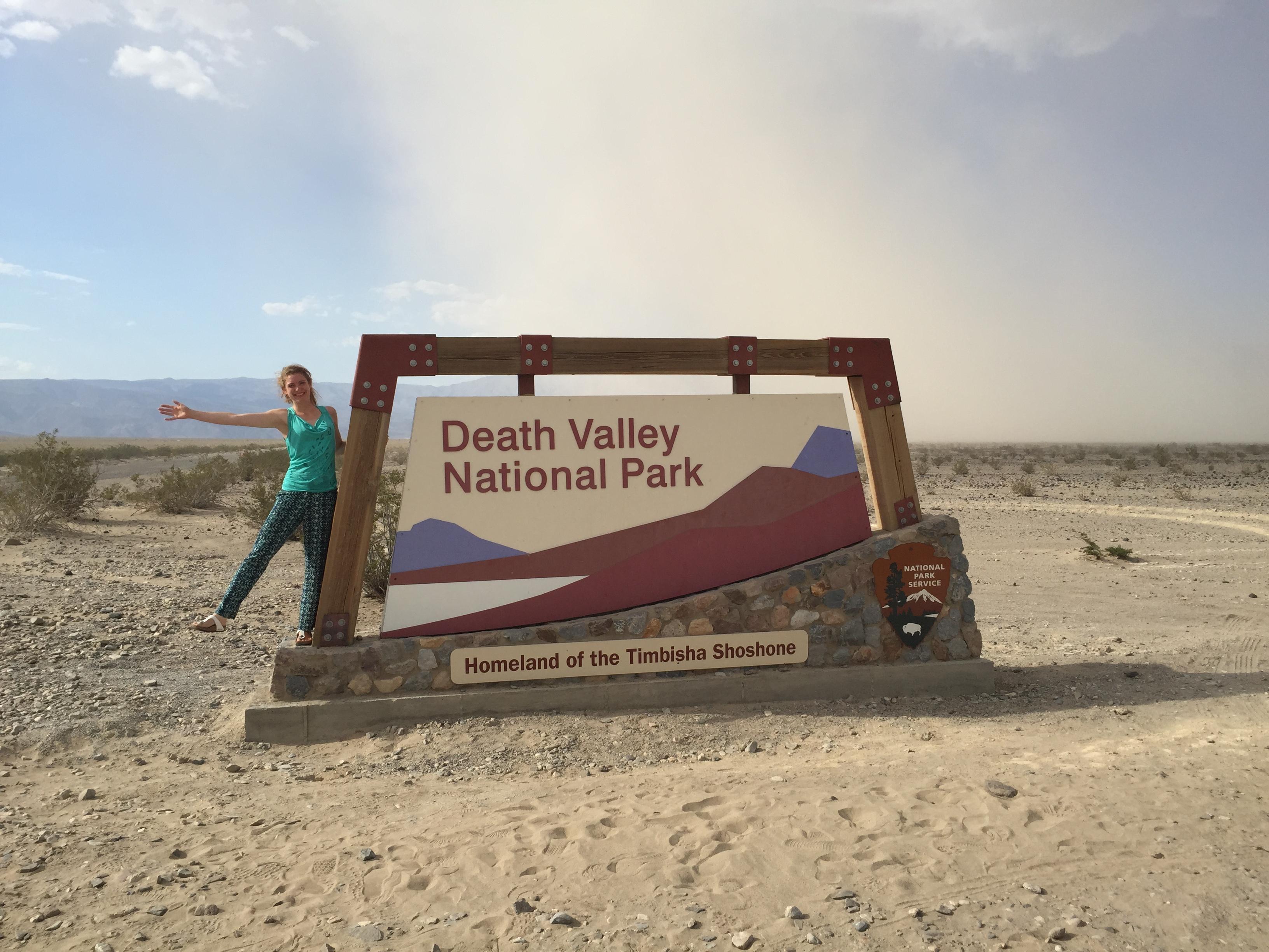 Banner Death Valley