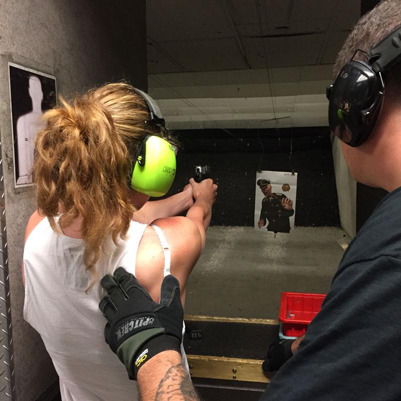 Las Vegas guns schieten
