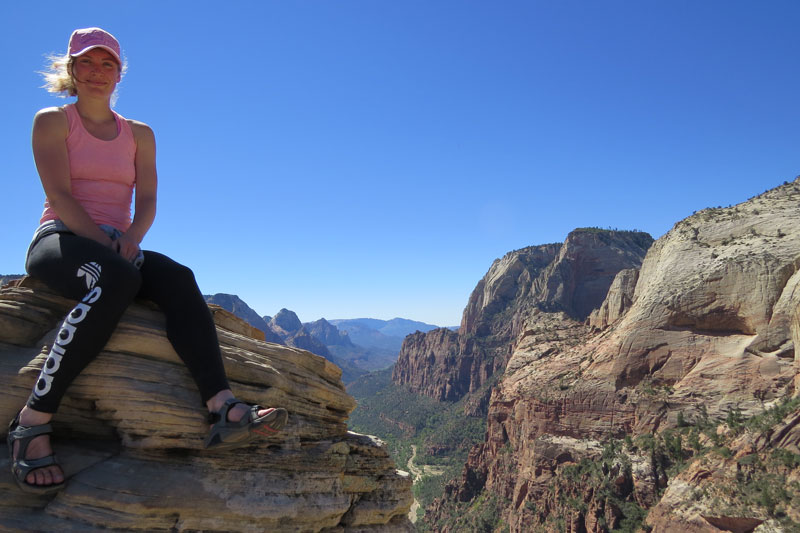 Zion Canyon Angels trail