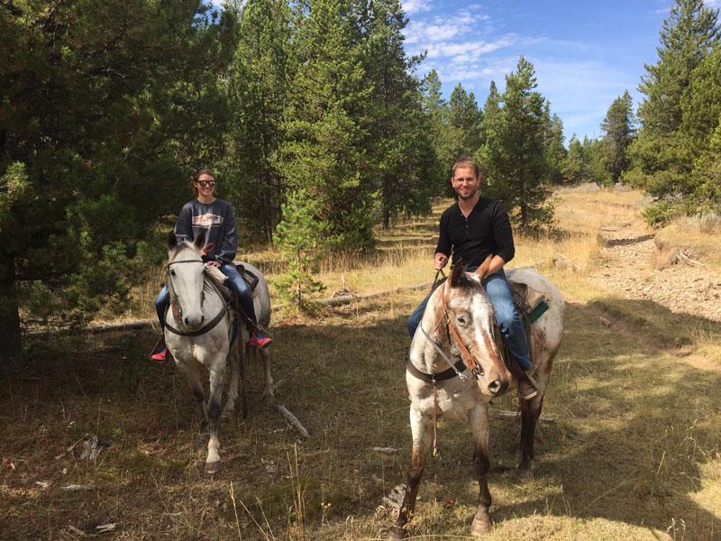 Eagle Ridge Ranch paardrijden