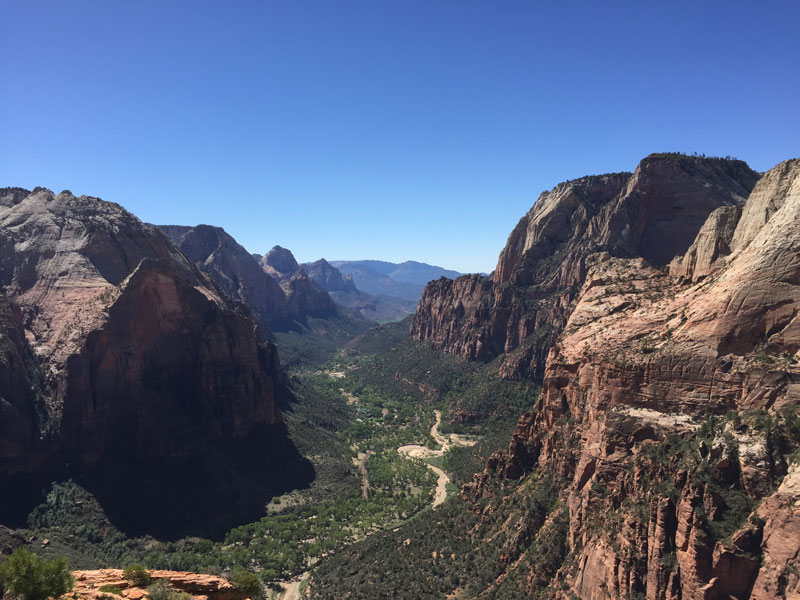 Angels Landing Zion Canyon Hike