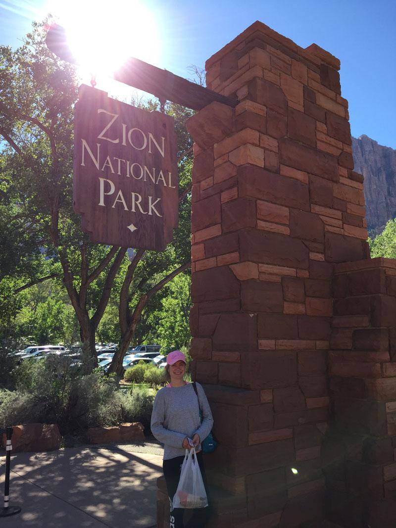 Angels Landing Zion Canyon Hike