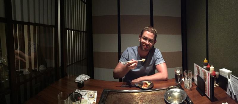 Donguri Japans eten in Kyoto
