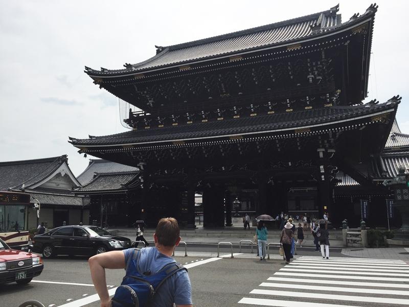 Higashi Honganji tempel