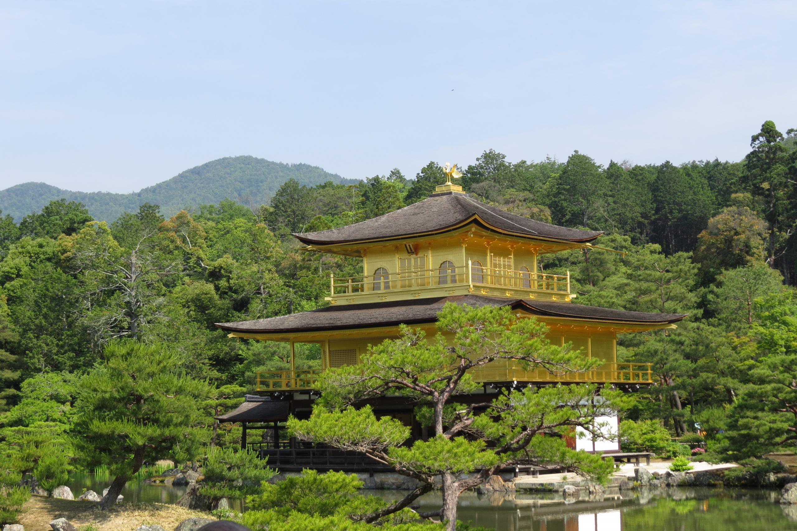 Banner Kyoto gouden paviljoen