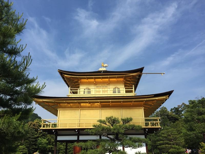 Het gouden paviljoen Kyoto