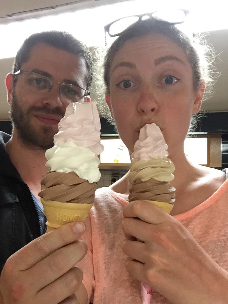 Giga ijsjes Nakano Broadway Japan