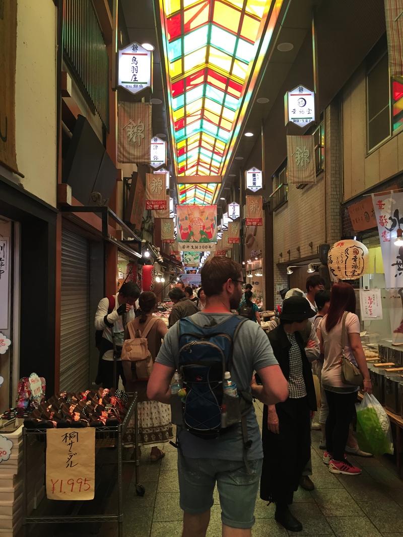 Nishiki Food Market Tokyo