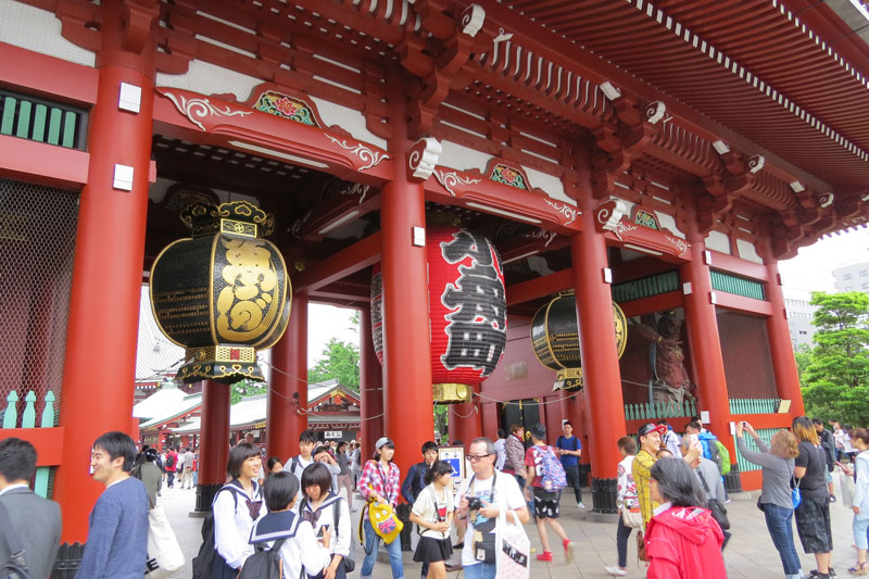 Sensoji Shrine Japan