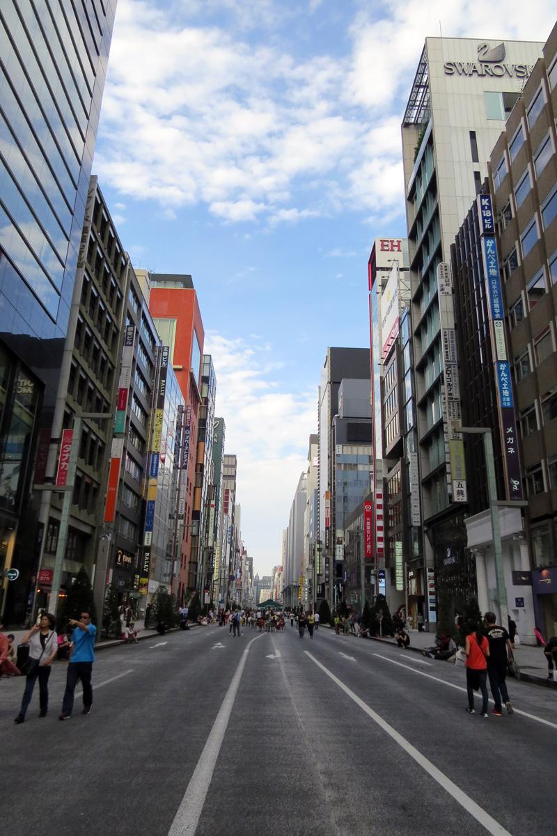 Tokyo autovrije zondag