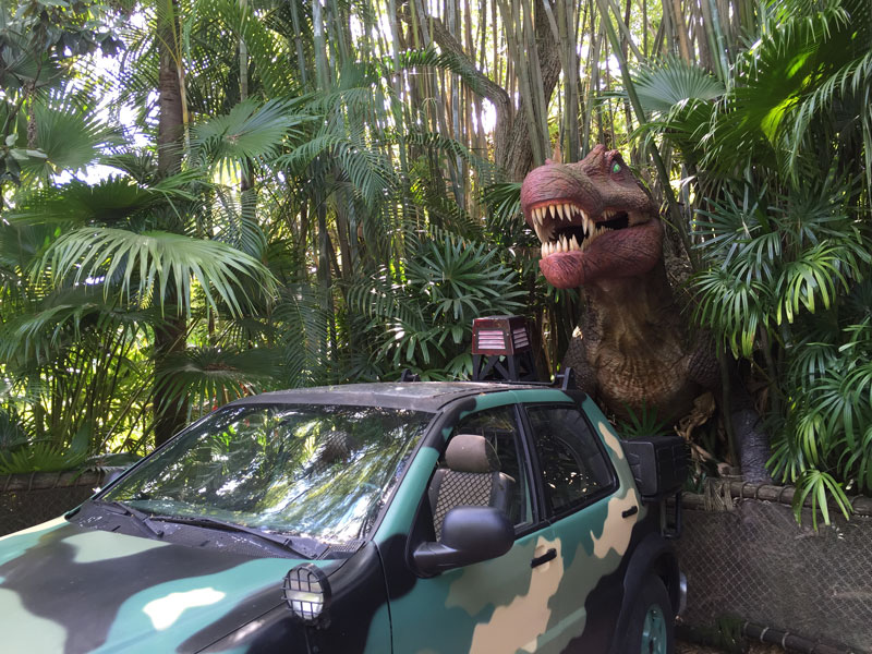 Universal Studios Orlando Jurrasic Parc