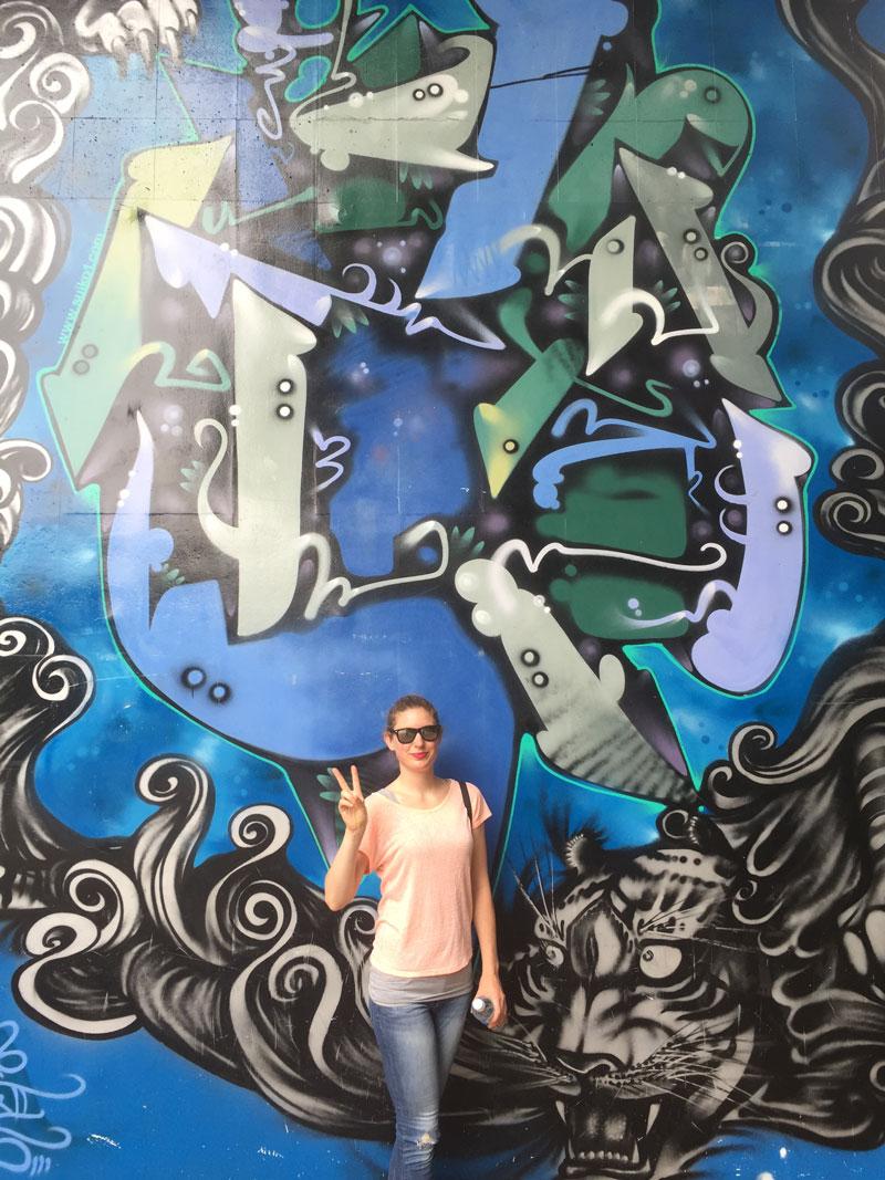 Yoyogi park street art