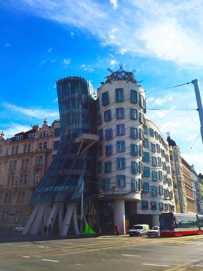 Dansend huis Praag