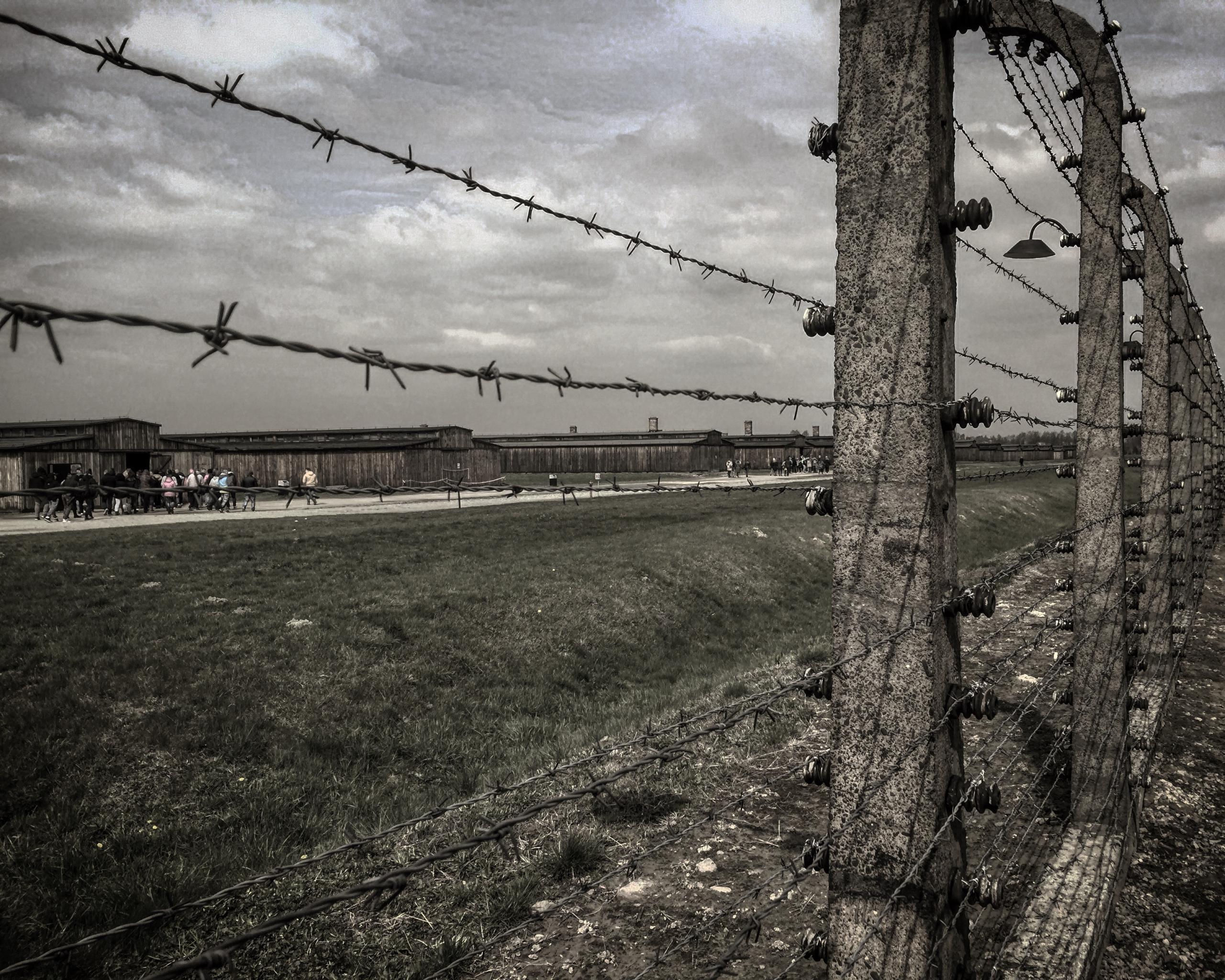 Banner Auschwitz
