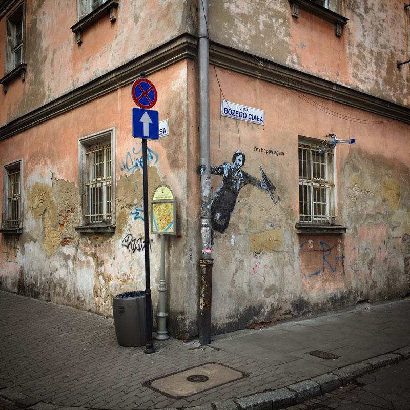 Streetart Krakau