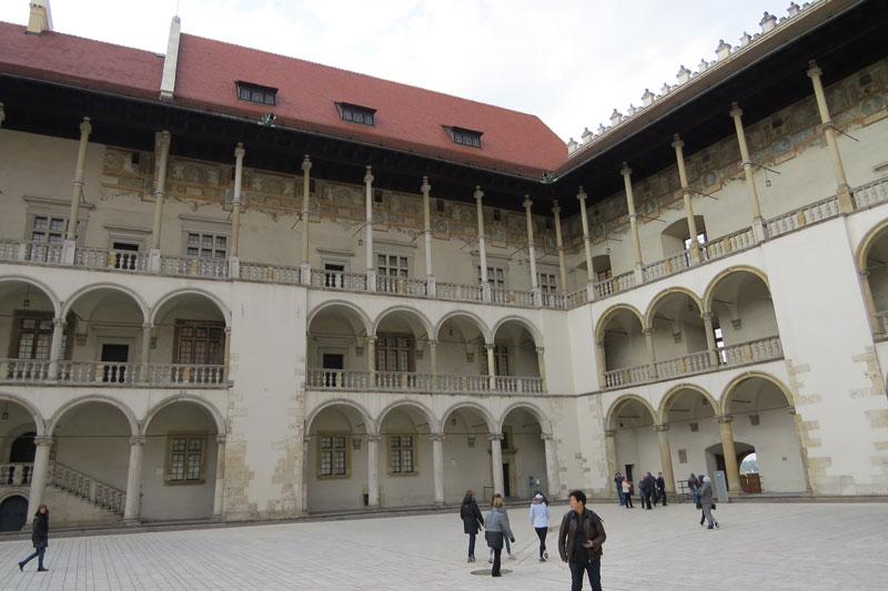 Wawel kasteel Krakau