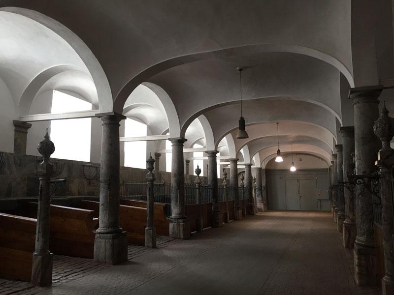 Chrisitansborg Slot stallen