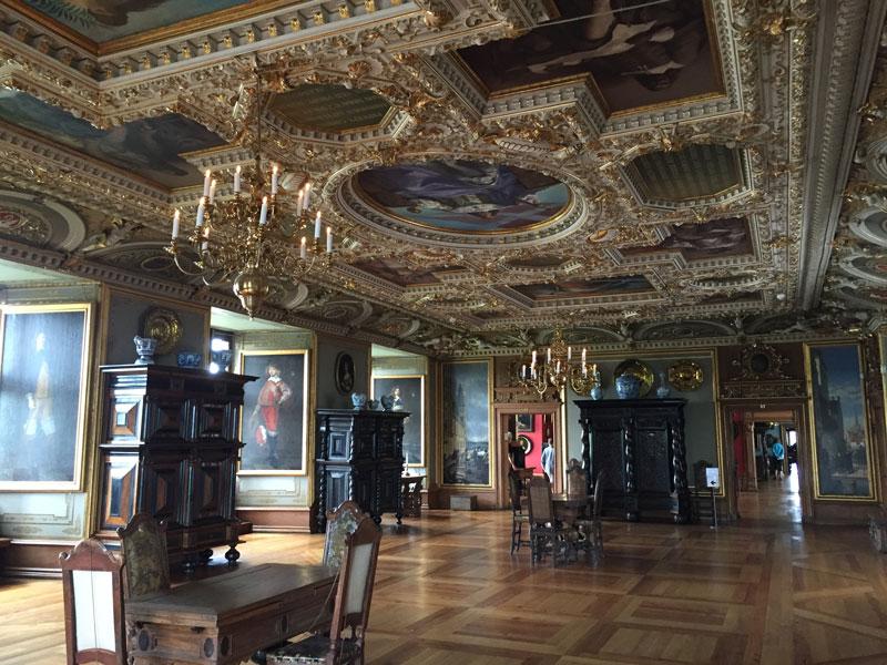 Frederiksborg Slot zaal