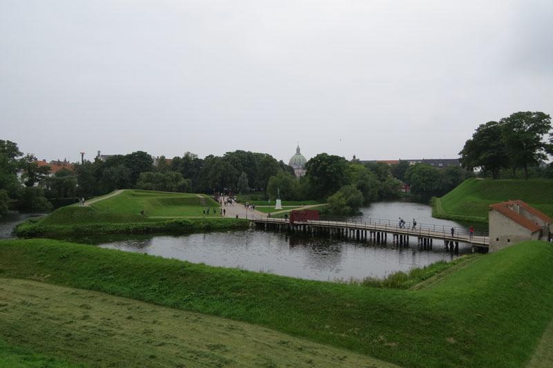 Uitzicht kastellet Kopenhagen