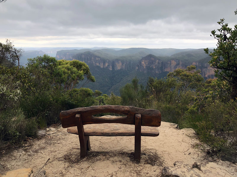 Blue Mountains Anvil Rock Lookout