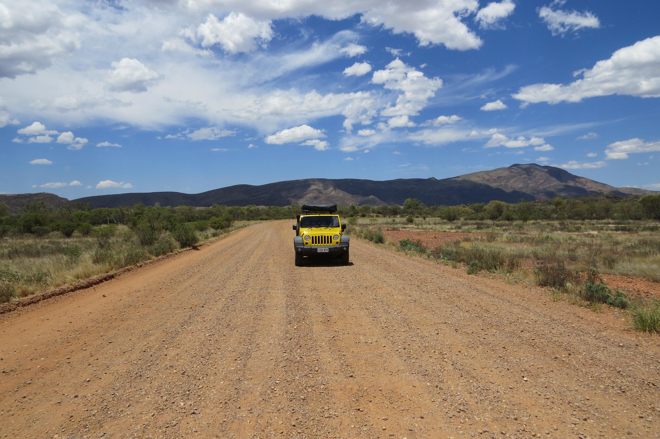 Banner roadtrip Australië