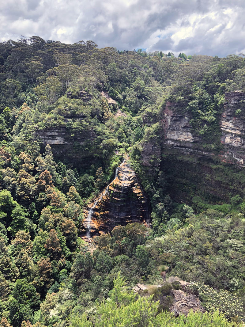 Blue Mountains Bridal Veil Fall