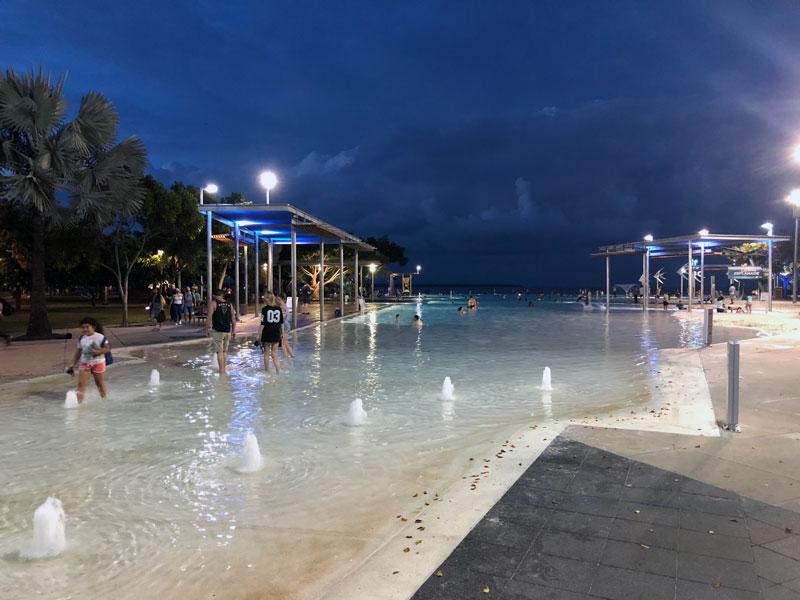 Cairns openlucht zwembad