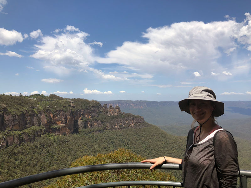 Blue Mountains Eagle Hawk Lookout