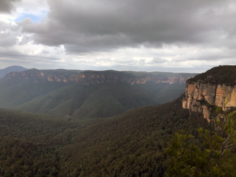 Blue Mountains Govetts Leap Lookout