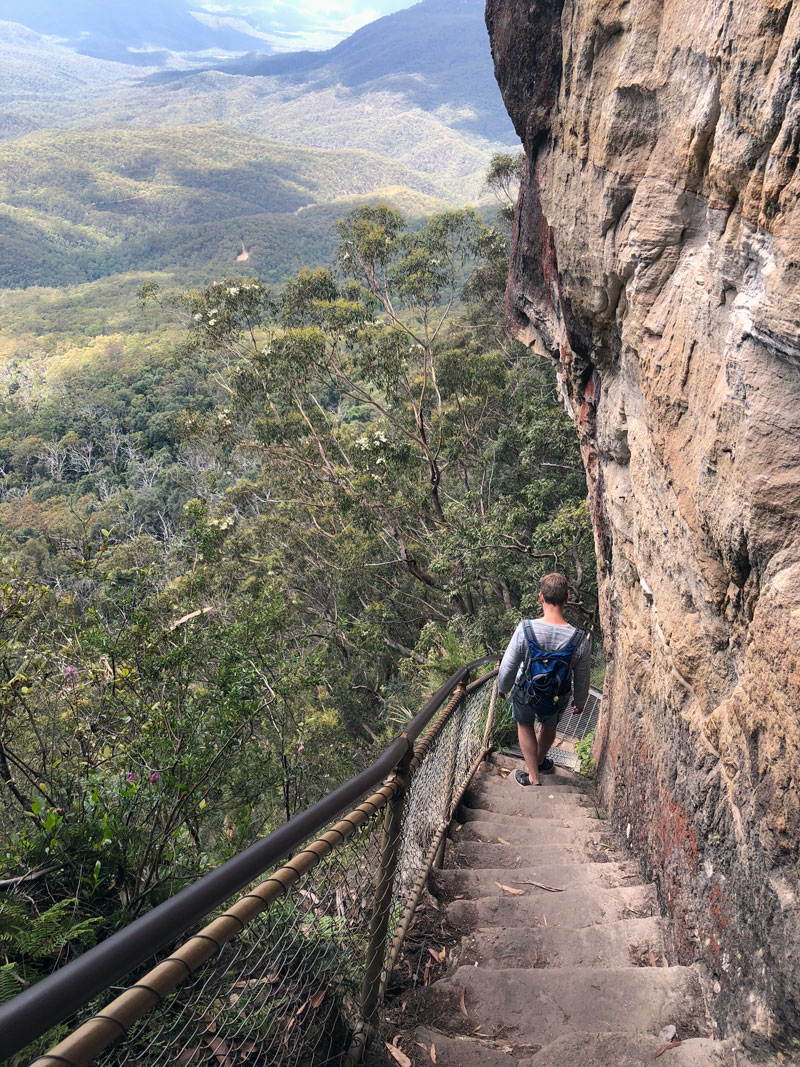 Blue Mountains Grand Stairway