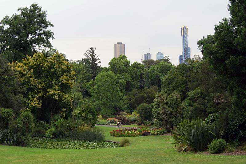 Melbourne botanische tuin