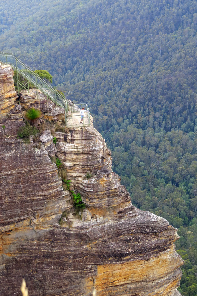 Blue Mountains Pulpit Rock Lookout