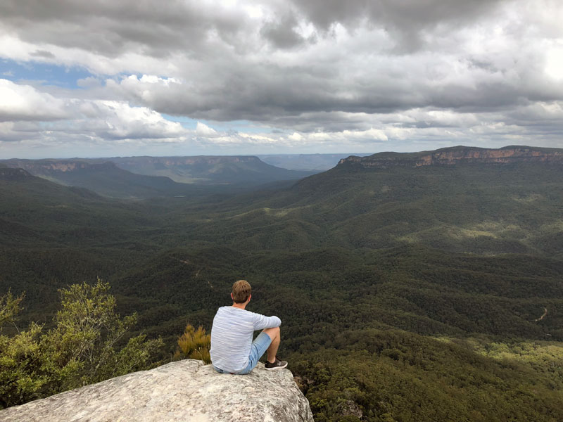 Blue Mountains Sublime Point Lookout