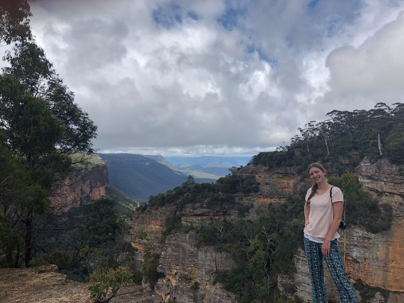 Blue Mountains Therabulat Lookout