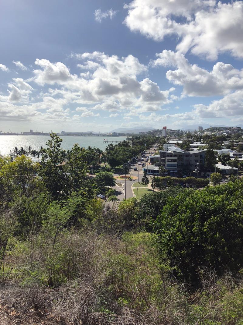 Uitzicht vanaf Kissing Point