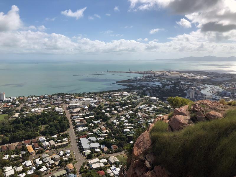 Uitzicht vanaf Castle Hill
