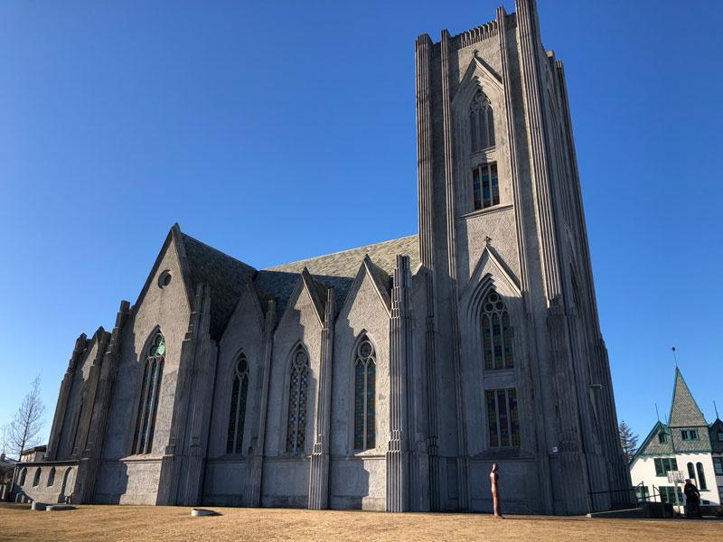 Domkirkja Reykjavik