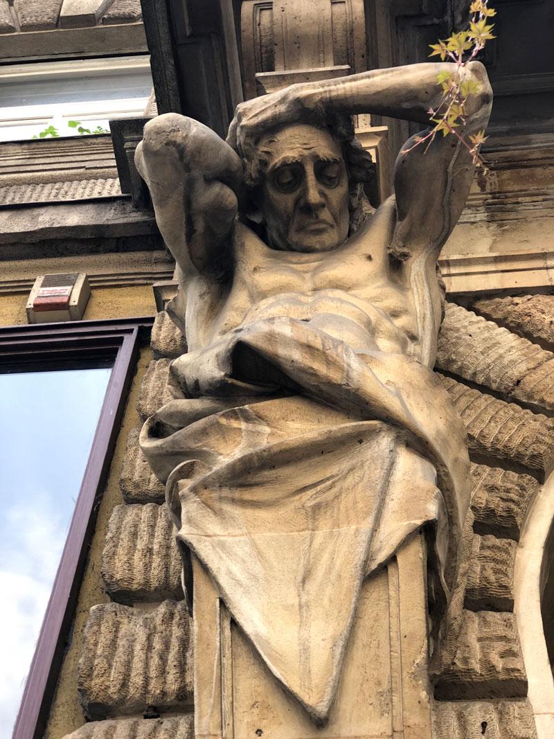 Boedapest beeld