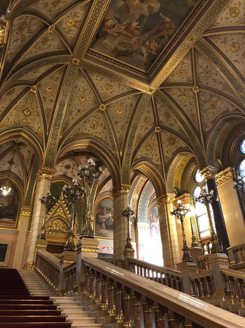 Het parlementsgebouw Boedapest