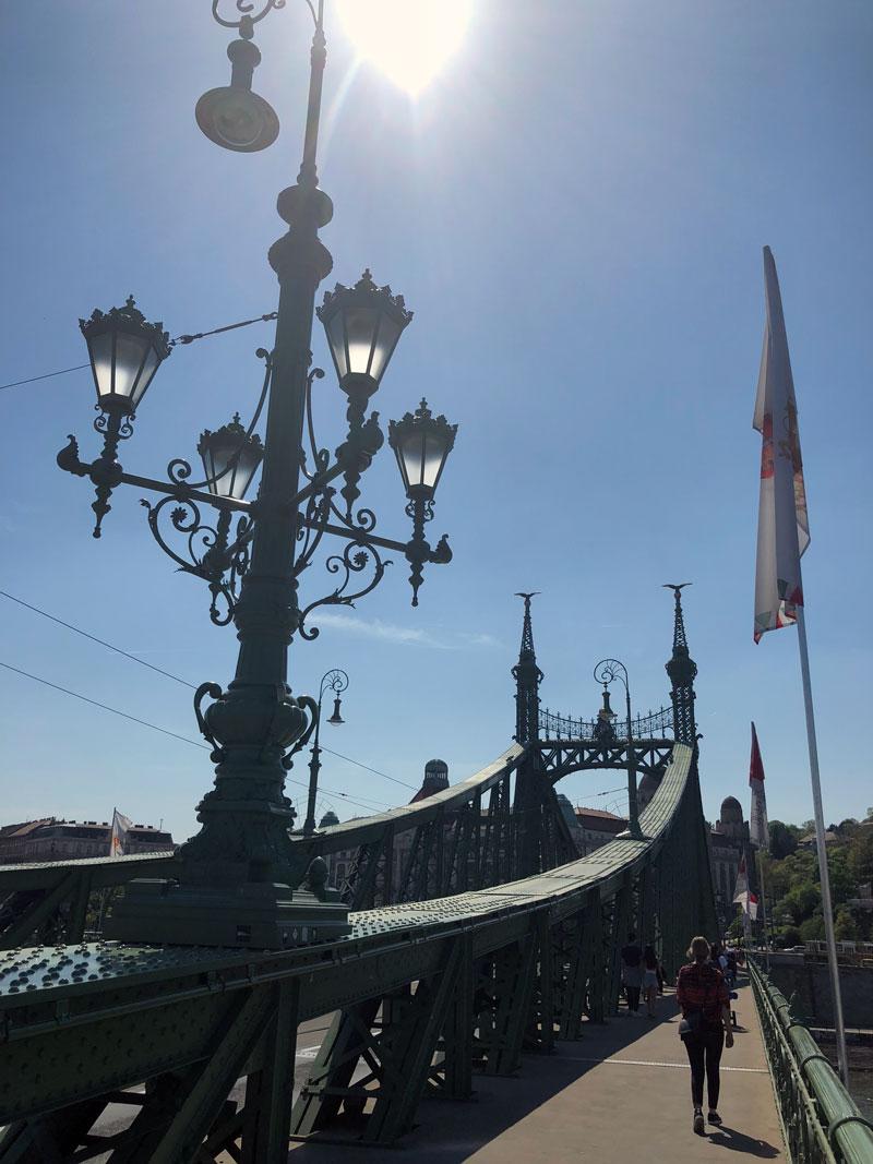 Boedapest vrijheidsbrug