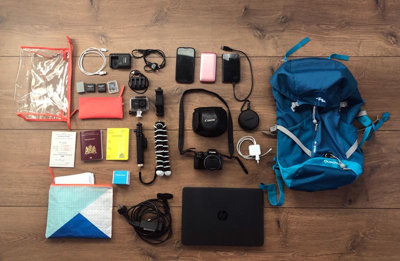 Zuid Amerika Checklist gadgets