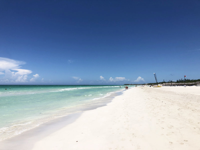Strand Varadero Cuba.